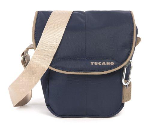 Tucano CBS-HL-B Scatto Holster Tasche für Reflex Kamera (Außenfach, verstellbarer Trageriemen) blau