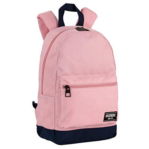 SKECHERS - Unisex-Rucksack für Erwachsene mit Ipad-Tablett in der Innentasche Ideal für den täglichen Gebrauch Bequeme Versáti S938, Color Rosa-Marino