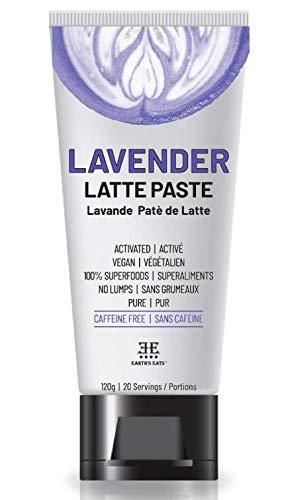 Lavender Latte Mix, Tea, Lemonade, Baking & Face Mask - 100% Superfoods- 20 Servings (120g)