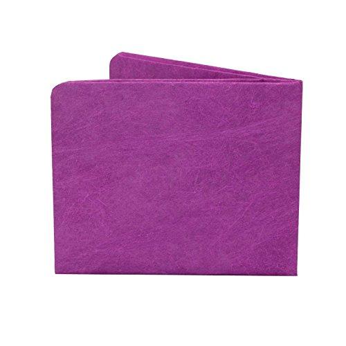 Paperwallet Tyvek Unisex Portemonnaie - Solid Violet - Vegan & 100% Recyclebar