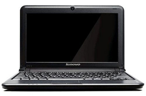 Lenovo IdeaPad S10-2 25,7 cm (10,1 Zoll) SD LED Netbook (Intel Atom N280 1,6GHz, 1GB RAM, 160GB HDD, Intel GMA 950, XP Home) schwarz
