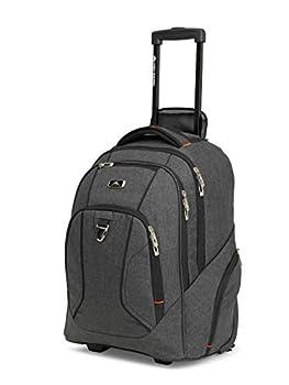 High Sierra Endeavor Rolling Backpack Black One Size