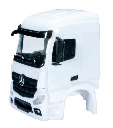 herpa 083690 - Mercedes-Benz Actros Streamspace 2.3 Fahrerhaus sep Grill ohne WLB, 2 Stück