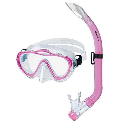 Mares Sharky Kinder Schnorchelset mit Maske und Schnorchel (Farbe: pink)