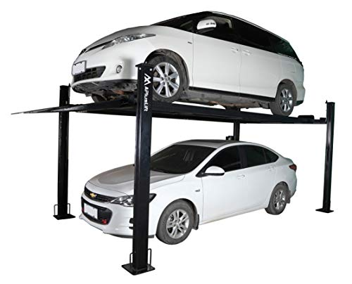 APlusLift HW-8S 8,000LB Portable Storage Service Car Auto Lift 4-Post Lift Truck Hoist (Stock in GA, MO, NC, PA, TX, WA)