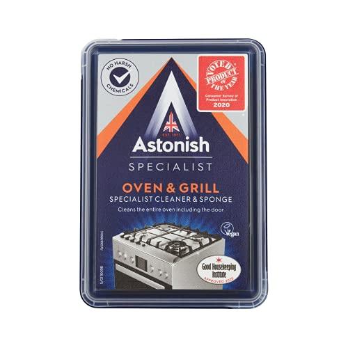 Astonish Specialist Edition Krachtige Oven en Grill Cleaner en Spons, 250g