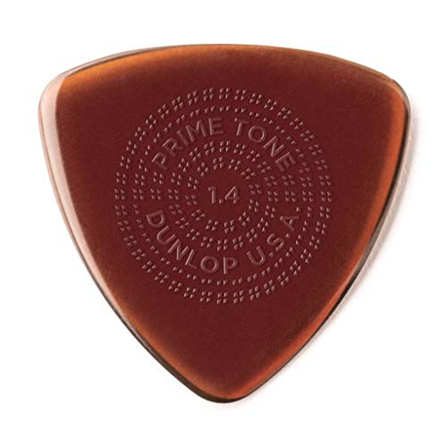 JIM DUNLOP Primetone Sculpted Plectra Triangle with Grip 512P 1.4mm ピック×3枚入り