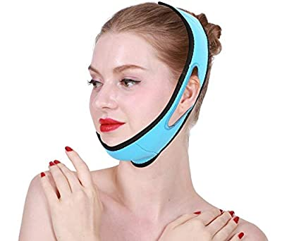 Adjustable Face Lifting Belts, 1 Pcs Powerful Thin Face Mask Silicone Double Chin Remove Massage Firming Belt Beauty Care Tool