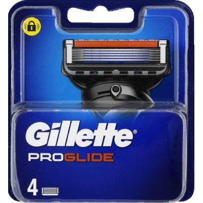 Gillette - ProGlide Rasierklingen Für Herren Mit 5 Anti-Reibungs-Klingen Für Eine Gründliche Und Langanhaltende Rasur - 4x Nachfüllung