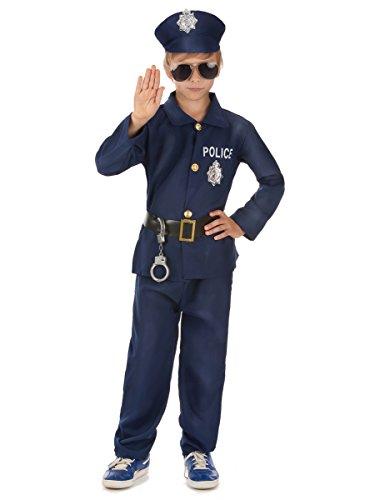 Déguisement policier garçon - 8 à 10 ans