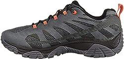 Merrell men's lightweight hiking shoes for wide feet