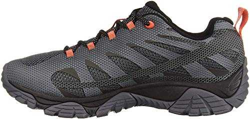 Merrell mens Moab Edge 2 Hiking Shoe, Monument, 11 Wide US