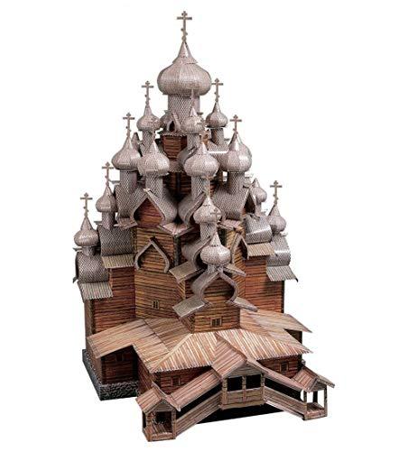 CLEVER PAPER  Puzzles 3D Iglesia de la Transfiguración, Rusia (14151)