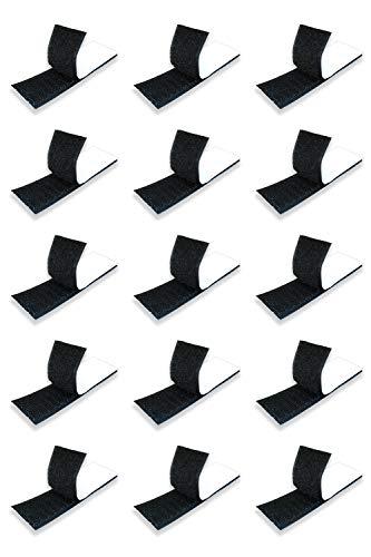 ShotR 面ファスナー 両面テープ付き 3cm × 10cm × 15枚