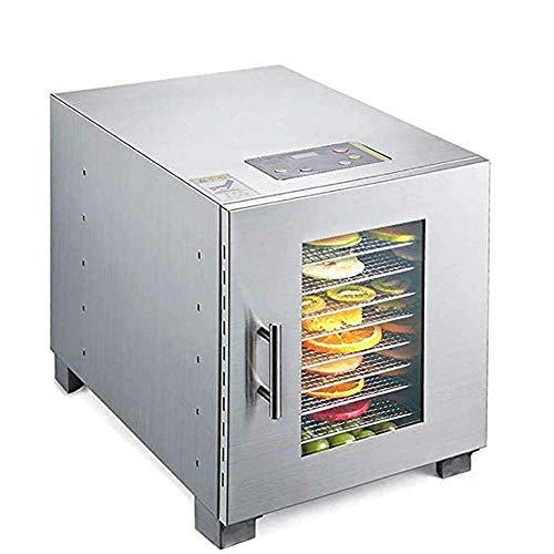 GSAGJsf 0-Schicht-große Kapazität, 304 Edelstahl Ventilkörper, justierbarer Temperatur 30 bis 90 ° C Trockner, Geeignet for frisches Obst, Gemüse, Fleisch Gewerbetrockner