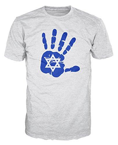 Dalesbury Israel Vlag Palm T-Shirt [Kies maat & kleur]