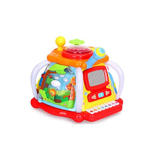 XXHDEE Multi-Function Game Console Children's Fun Small World Children's Baby Tap Early Education Educational Toys 32x31x24.5cm Toy Gift