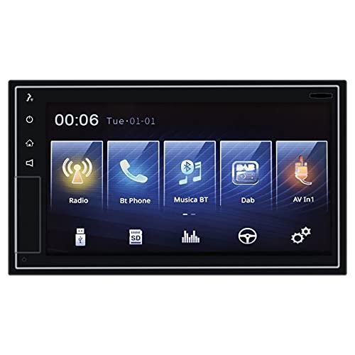 "Phonocar VM011D Autoradio 2 DIN Apple CarPlay Android Auto DAB+ BT GPS Monitor 6,75"""