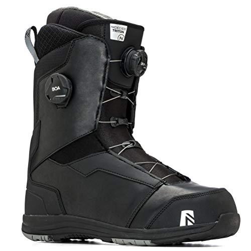Nidecker - Boots De Snowboard Triton Boa Focus Black - Homme - Taille 29.5 - Noir