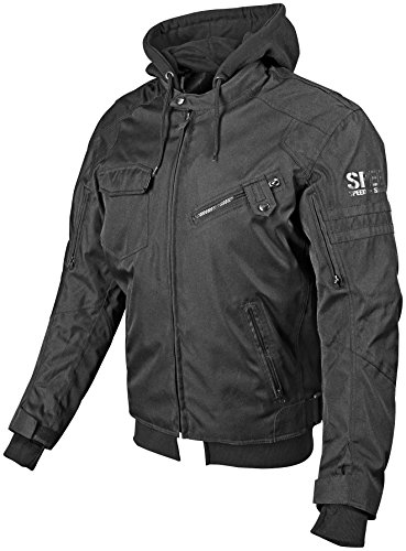 Speed and Strength Off the Chain 2.0 Men's Textile Jacket (Stealth, X-Large)