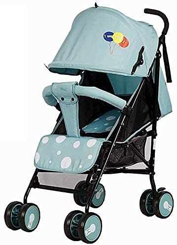 Cochecito de bebé Carrito recién nacido Cochecito infantil Cochecito de cochecito ultraligero Plegable Puede sentarse reclinable bebé portátil transpirable malla paraguas carretilla bebé carrito
