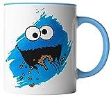 vanVerden Tasse - Cookie Monster Keks-Monster - Kinder