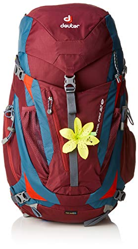 Deuter Damen ACT Trail Pro 32 SL Rucksack, BlackBerry-Arctic, 62 x 28 x 24 cm, 32 L