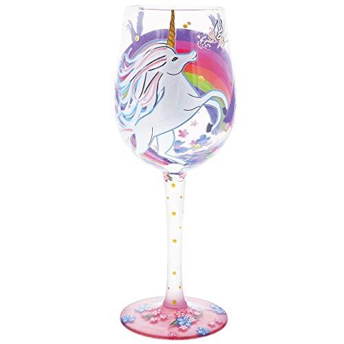Lolita Unicorn Wine Glass