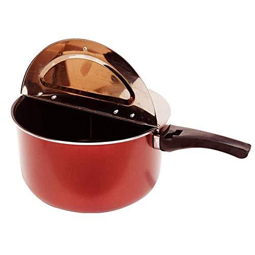 OhLt-j Máquina de Las Palomitas, Cocina de Gas de Doble Uso Palomitas Pot y Saludable Palomitas del Cine Maker Gratis orgánico Palomitas Kit Hace Que Las Palomitas de maíz