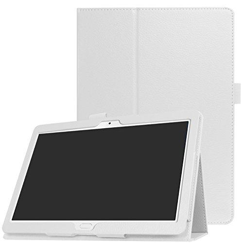 windykids dtab d-01H ケース 互換 MediaPad M2 10.0 カバー 白 スタンドケース スタンド docomo d01h メディアパッド d-01h(互換-m2-10)(1case) d-01h(互換-m2-10),白(1case)