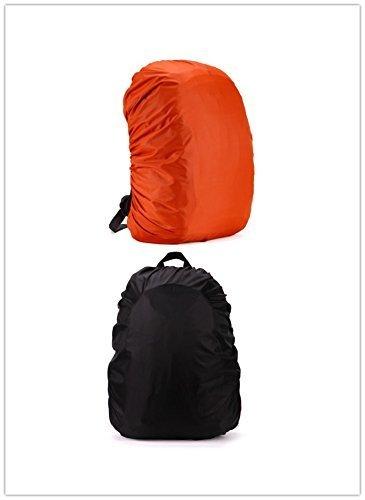 UChic 2 pcs 35L Sac de voyage Coque étanche Housse de pluie pour sac à dos camping randonnée Cyclisme Sac à dos d'école de voyage Sacs couvertures de poussière (couleur au hasard)