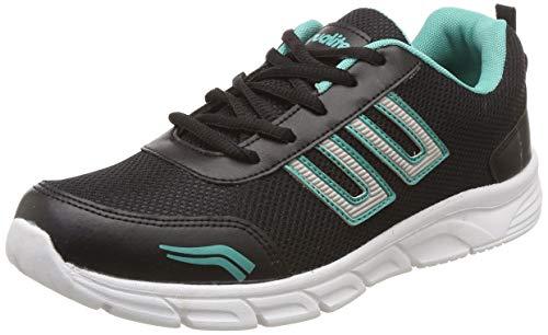 Aqualite Men's Black/Sea Green Running Shoes-10 UK/India (44 EU) (MAGIC-321)