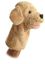 "10"" Garth the Dog Puppet"