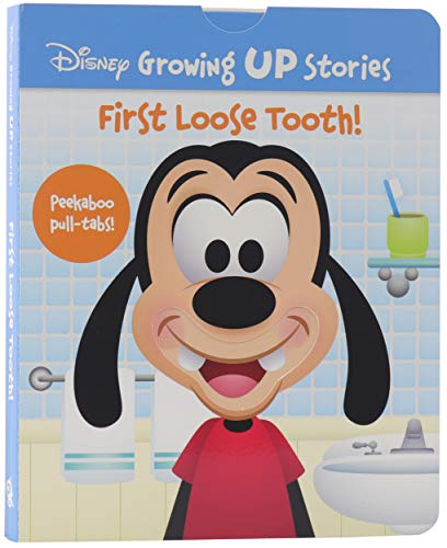 Disney Growing Up Stories with Goofy - First Loose Tooth! - Peekaboo Pull-Tabs Included! - PI Kids