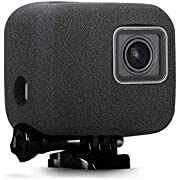 Taisioner Windslayer Housing Frame Protective Case for GoPro Hero 5/6 / 7 Black Outdoor Video Noise Reduction