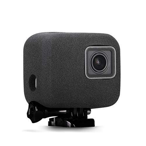 Taisioner Windslayer Cover Housing Frame Case for GoPro Hero 5 Hero 6 Hero 7 Black Video Noise Reduction