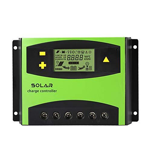RONSHIN LCD-Display Solarregler Smart Solar Laderegler für Straßenbeleuchtung, 50a-12v/24v