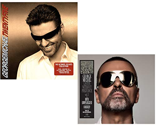 Twenty Five (Best Of) - Listen Without Prejudice / MTV Unplugged - George Michael Greatest Hits 2 CD Album Bundling