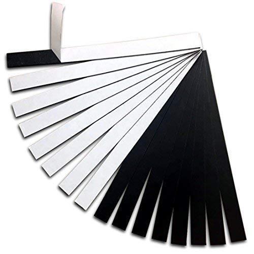 2Meter Selbstklebende Magnetstreifen-Starke Magnete Dick, Sticky & flexibel (Anzahl X 16)