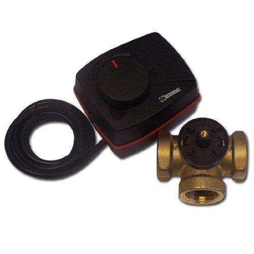 ESBE VRG131 + ARA661 Set 3 Wege Heizungs-Mischer + Stellmotor 1 IG