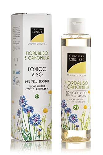 Cascina Cabasse Bio Tonico Viso naturale biologico astringente lenitivo Fiordaliso | Camomilla | purificante 200 ml