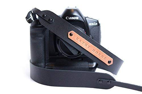 Shoulder Camera Strap for Canon Nikon Sony Pentax Leica Personalized Leather Camera Strap for DSLR Cameras Custom Gift for Photographers