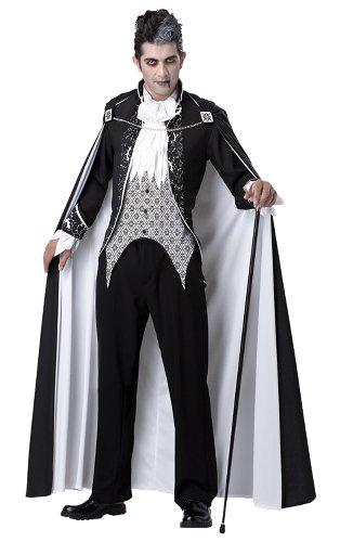 Costume Halloween / Carnevale da Vampiro Dracula Regale – Horror – Uomo Large
