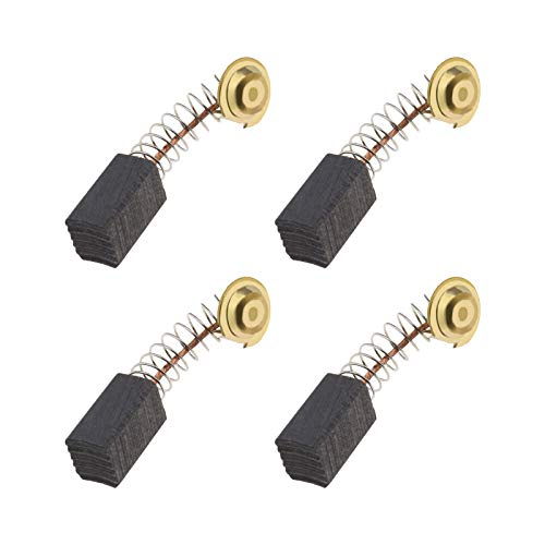 2 Pairs of Motor Carbon Brushes 6.5x7.5x12mm Compatible with Guild PDH26G 1000W Rotary Hammer Drill Mannesmann 12590 Hammer Drill