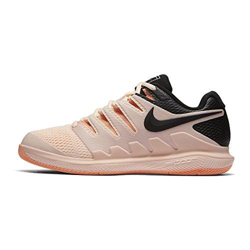 Nike Wmns Air Zoom Vapor X HC, Scarpe da Fitness Donna, Multicolore (Crimson Tint/Black-O 800), 37.5 EU