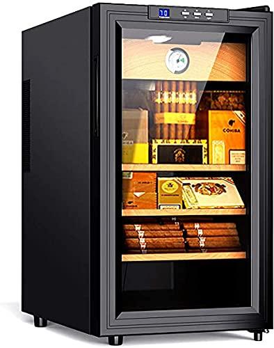 Cooler Humidor Spanish Cedar Wood 300 Capacity with Spanish Cedar Wood Shelves/Tray