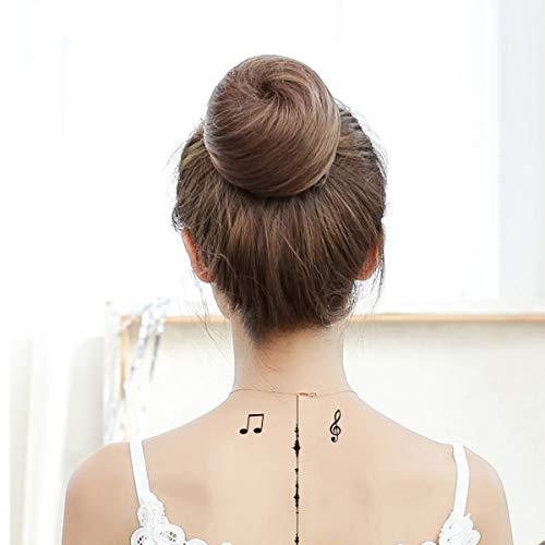 Lot de 3 planches de tatouages musicaux