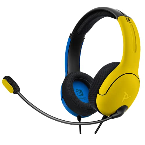 Pdp Auricolare Lvl40 Stereo Nintendo Switch Giallo & Blu - [Exclusive]