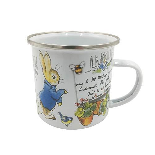 Robert Frederick Peter Rabbit Emaille-Tasse, 320 ml