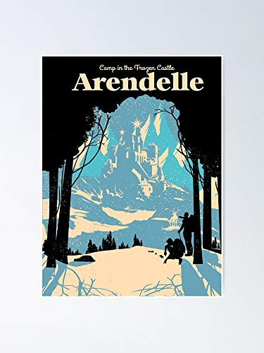 AZSTEEL Arendelle Poster No Frame Board for Office Decor, Best Gift Family and Your Friends 11.7 * 16.5 Inch